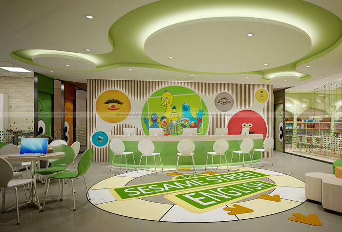 Tư vấn thiết kế nội thất trường học sang trọng tại HCM