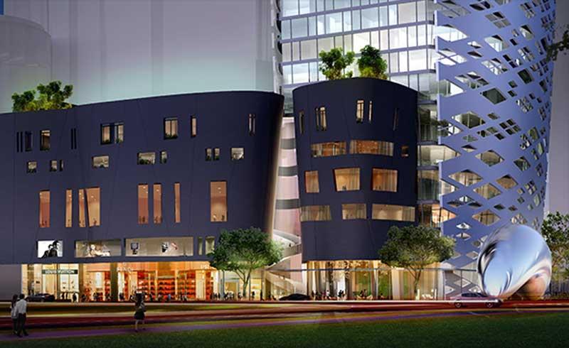 Cho thuê căn hộ chung cư Lavenue Crown