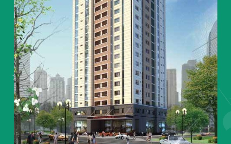 Cho thuê căn hộ chung cư Saigonland Apartmentquận Bình Thạnh