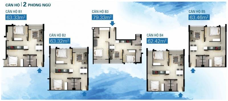 Cho thuê căn hộ chung cư Soho Premier