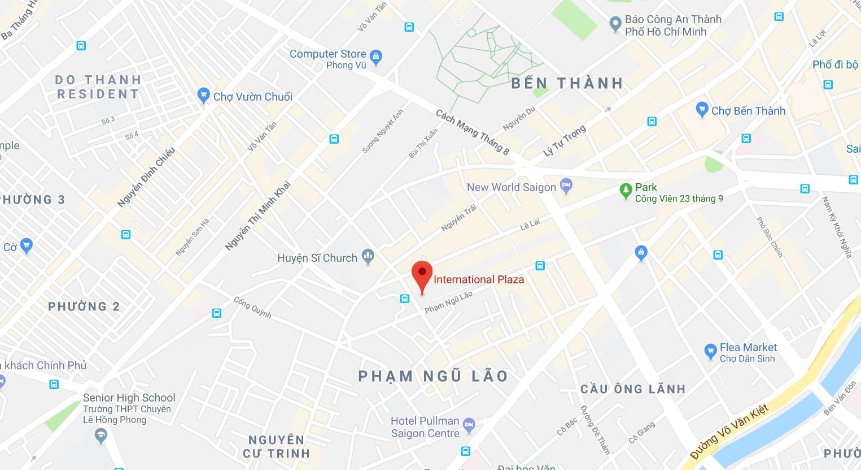 Cho thuê căn hộ chung cư International Plaza