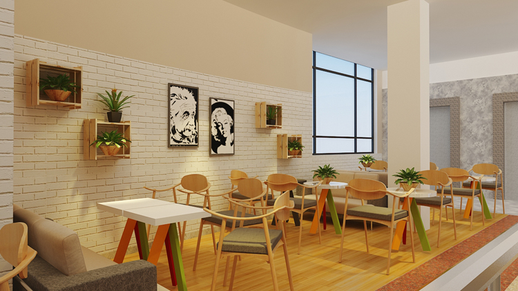 Nhận thiết kế nội thất quán trà sữa đẹp uy tín