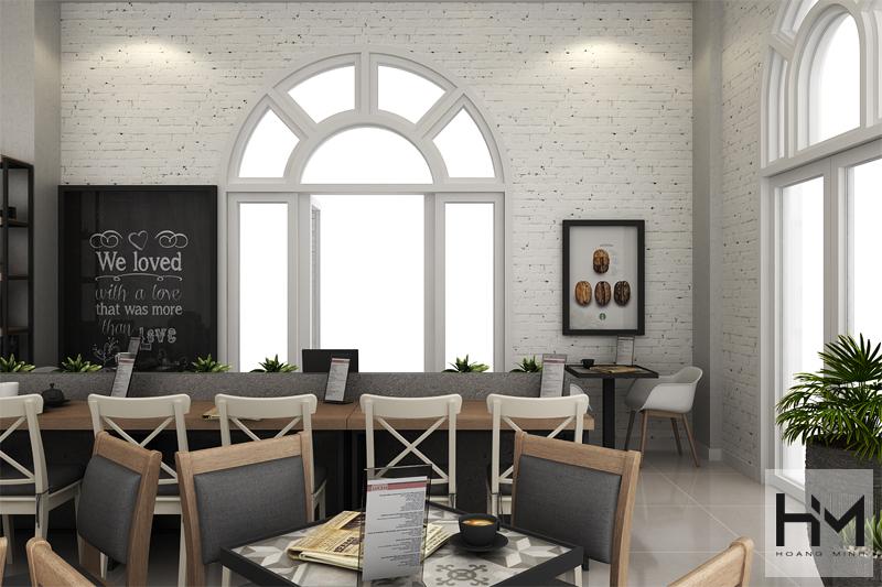 Công ty thiết kế thi công quán cà phê đẹp tại HCM