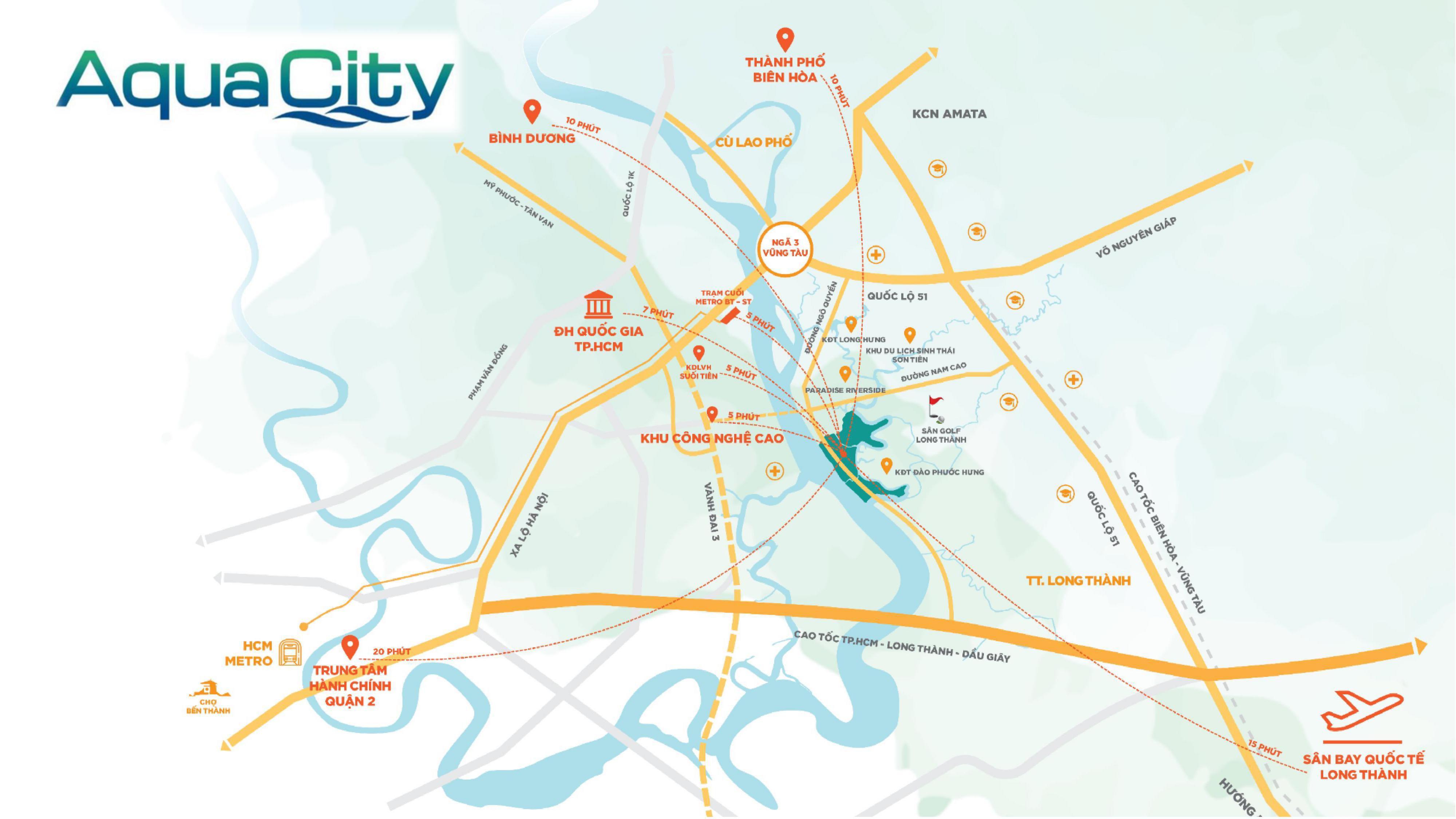 Vì sao Aqua City được đánh giá cao?